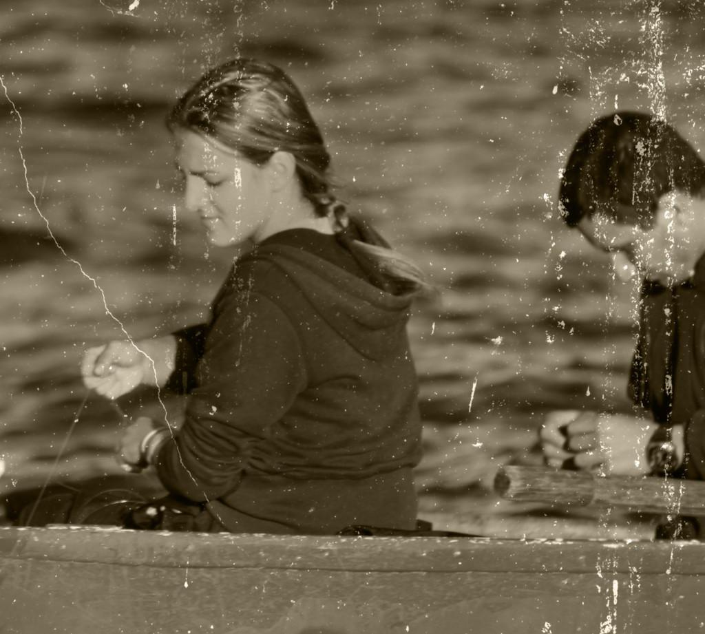 I tako je on nju jednoga lipoga dana poveja u ribe...