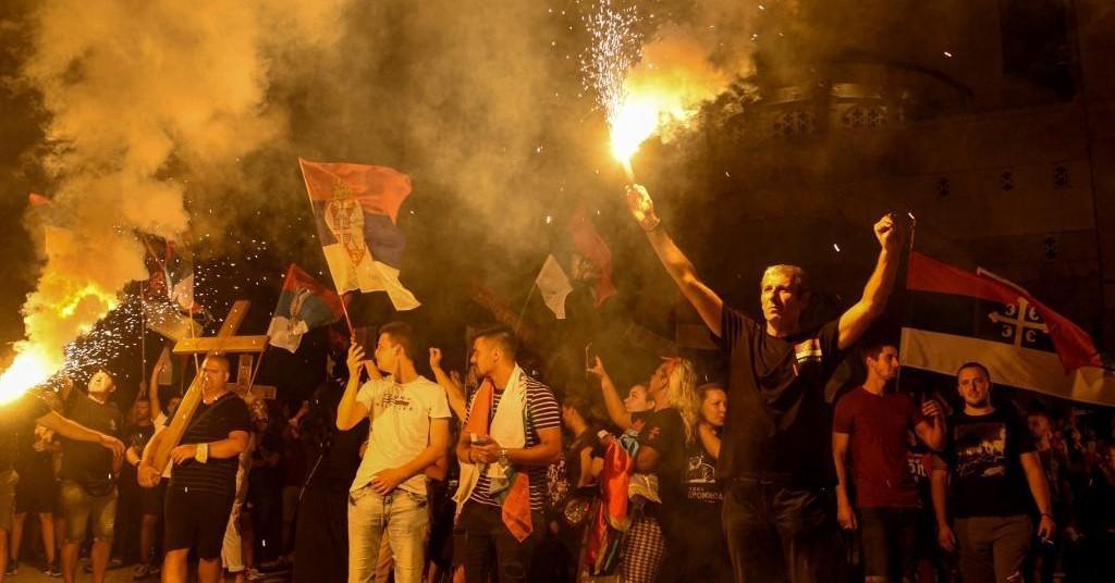 Prizor iz Crne Gore nakon izbora u ljeto 2020.