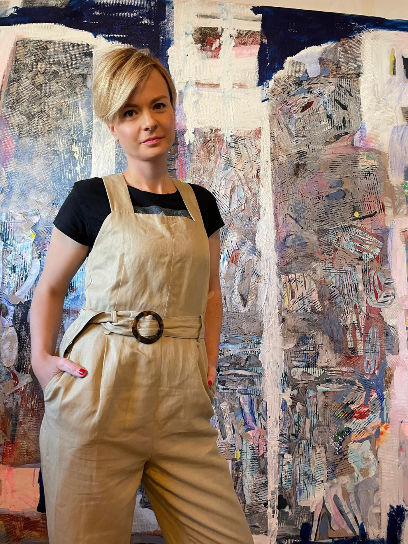 Nina Šimunović iskoristila je pandemiju za smjeliji iskorak u skulpturu, ali kao i uvijek, i dalje je zaljubljena u beskraj plavetnila