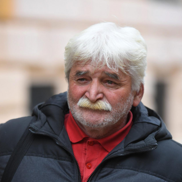 Stipan Vukasović, otac preminulog Kristijana