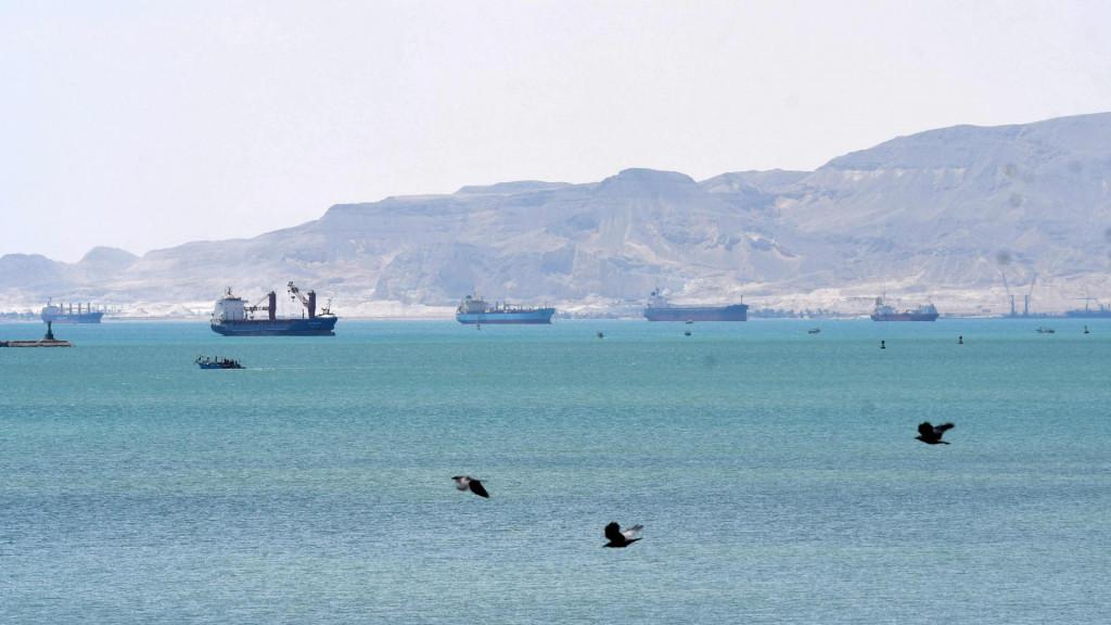 Gužva na ulazu u Sueski kanal