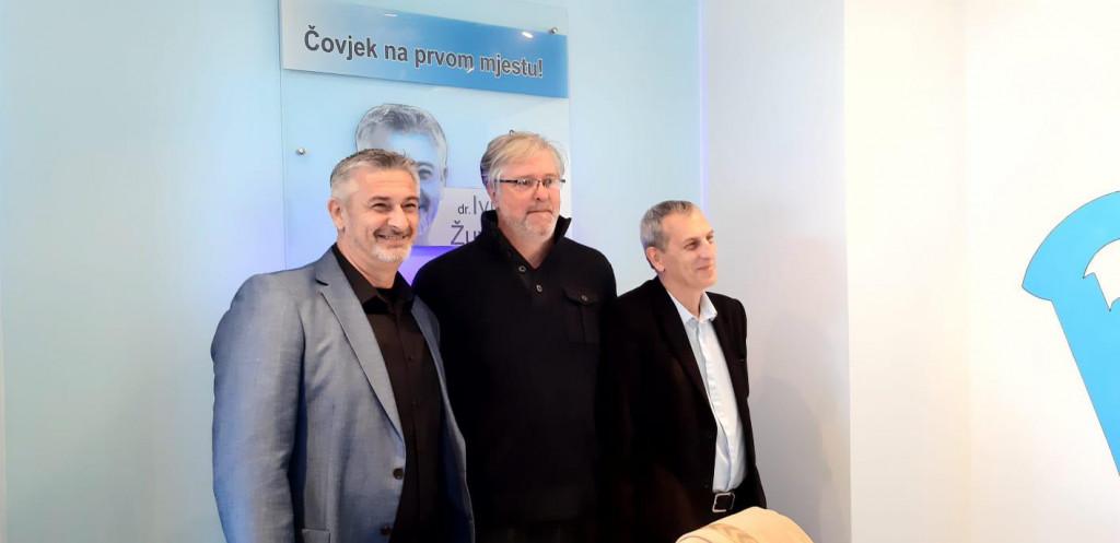 Najava kandidature Ive Žuevle i Enio Meštović koji će se naći na njegovoj listi