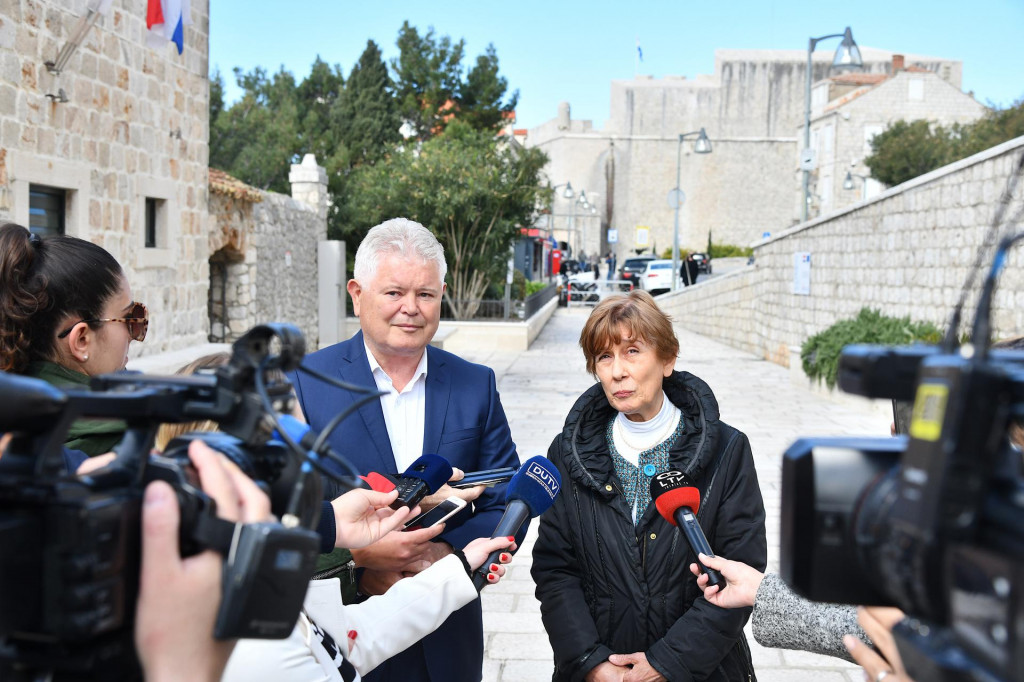 Konferencija za medije je održana na platou Lazareta
