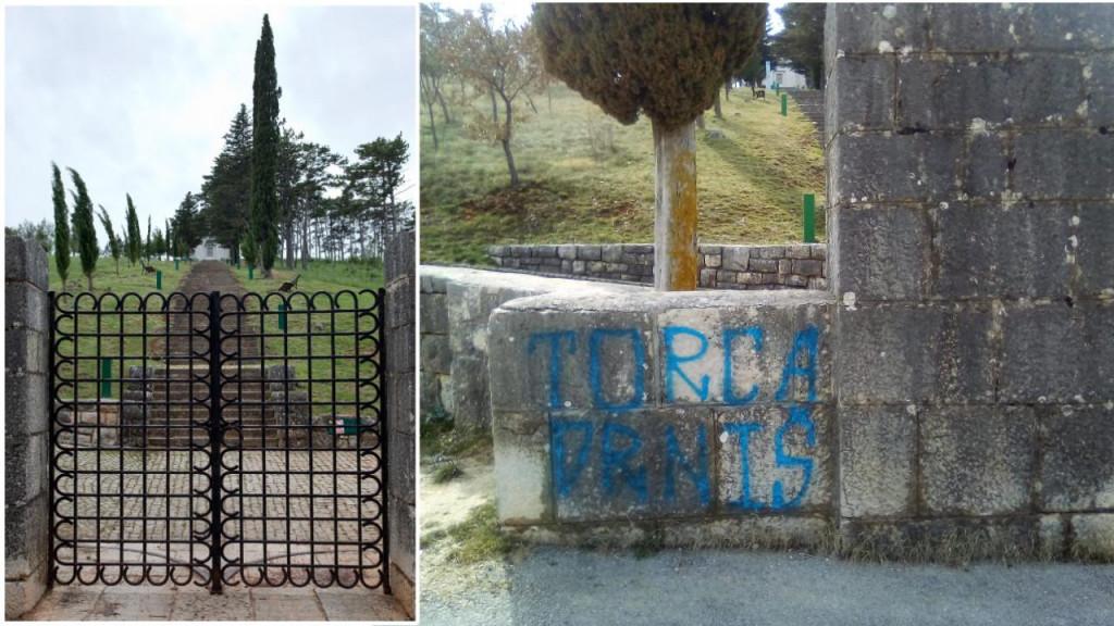 Grafit na zaštićenoj baštini od iznimne važnosti