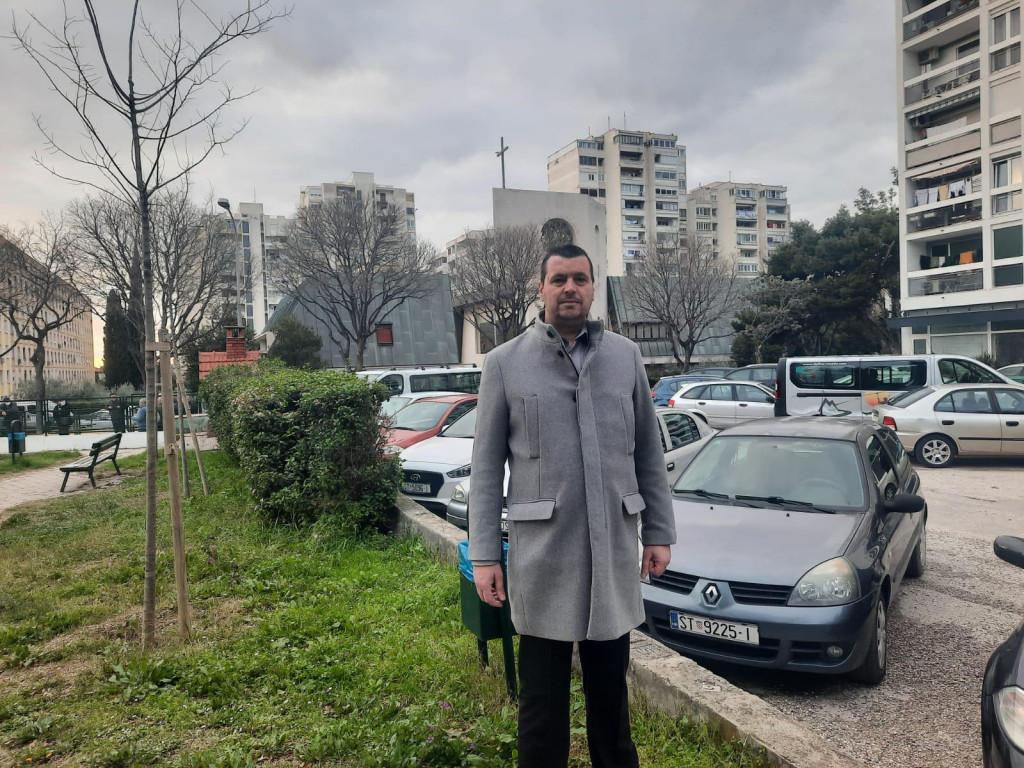 Petar Ljubičić,predsjednik Vijeća Gradskog kotara Lokve iz redova HDZ-a