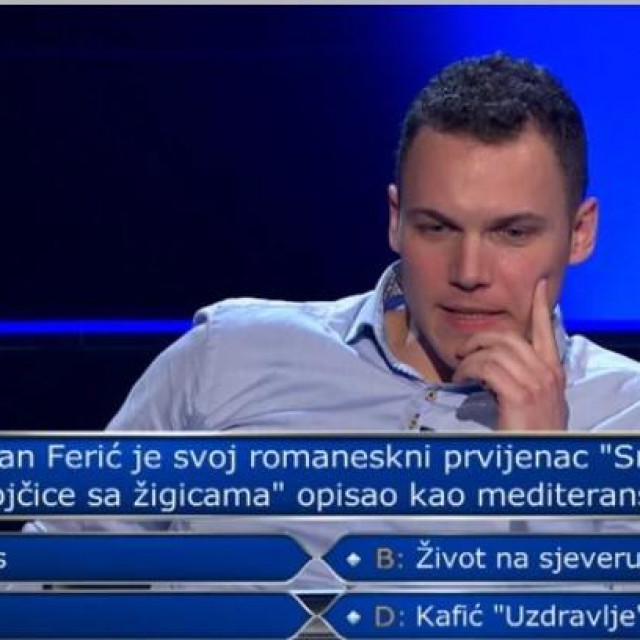 Splićanin Frane Milovčić prešao je drugi prag sa sva tri raspoloživa džokera.