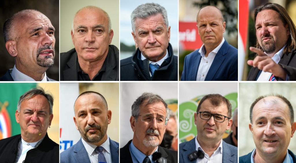 Kandidati za župana i šibenskog gradonačelnika