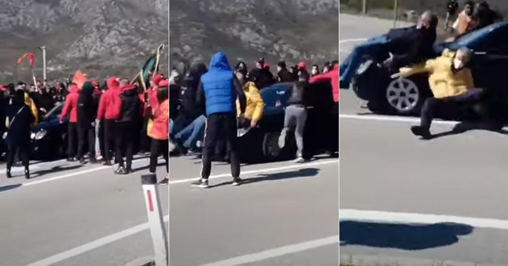 Prosvjed u Crnoj Gori