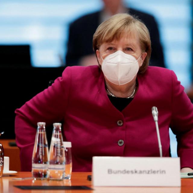 (Photo by HANNIBAL HANSCHKE/POOL/AFP)