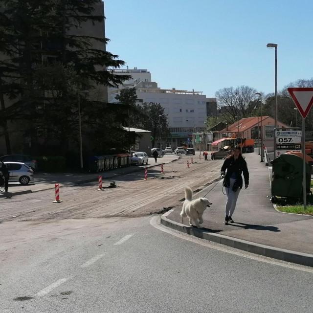 Radovi u Ulici Put Murvice
