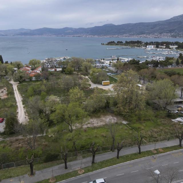 Gradski projekt Poljud obuhvaća 17 hektara između park-šume Marjan, Spinuta, stadiona i luke Lora