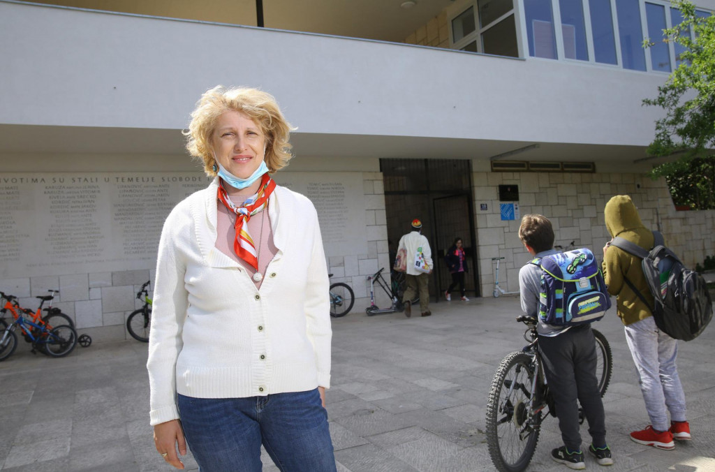 Anela Borčić, ravnateljica osnovne škole Vis