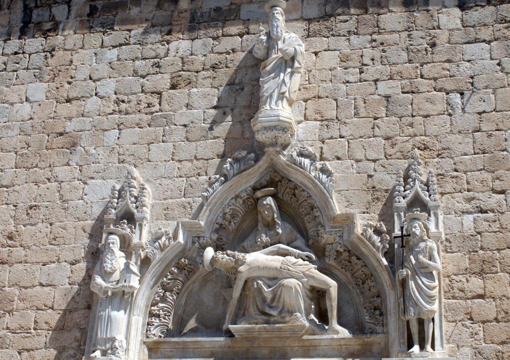 Portal franjevačke crkve Male braće u Dubrovniku