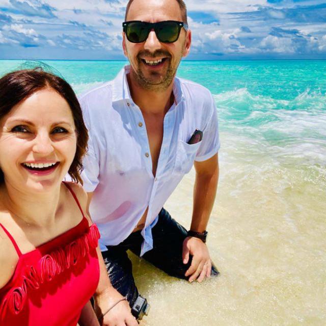 Kinga Kolar na Maldivima je provela deset dana.