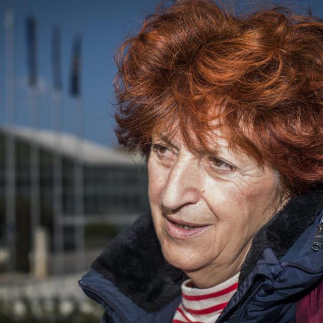 Jordanka Grubač, novinarka Slobodne Dalmacije