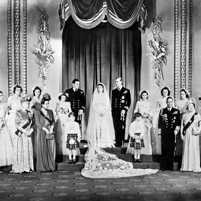 Princeza Alice prisustvovala je vjenčanju svog sina Philipa i Elizabete, tada još princeze