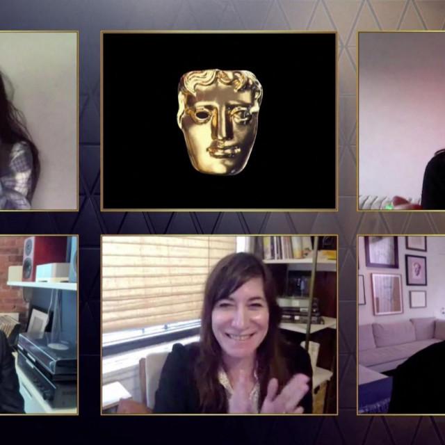 Ekipa filma 'Nomadland': Mollye Asher, Dan Janvey, Peter Spears i Chloé Zhao
