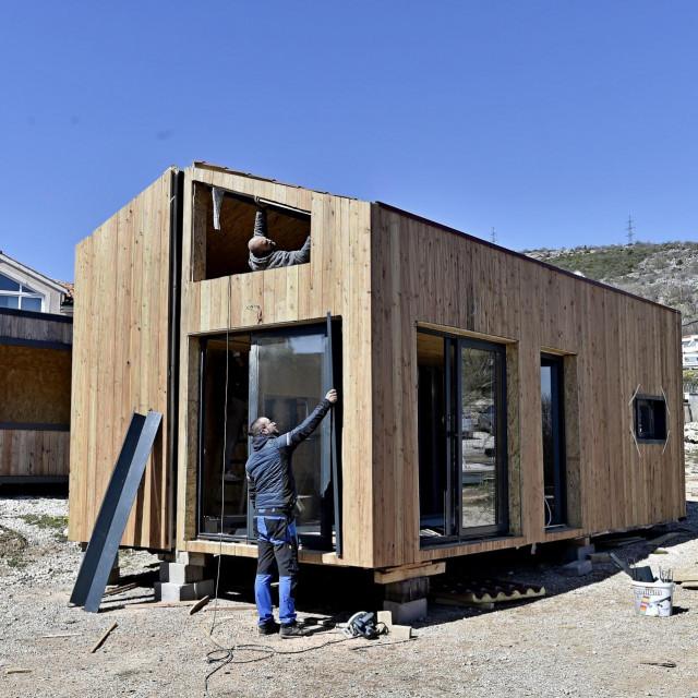 Tvrtka 'Modular living' izrađuje modularne pokretne kućice od drva i čelika