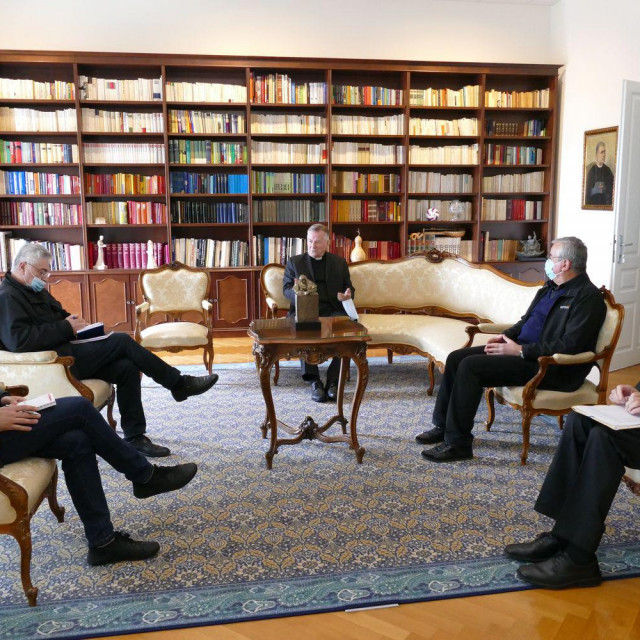Sastanak u Nadbiskupiji