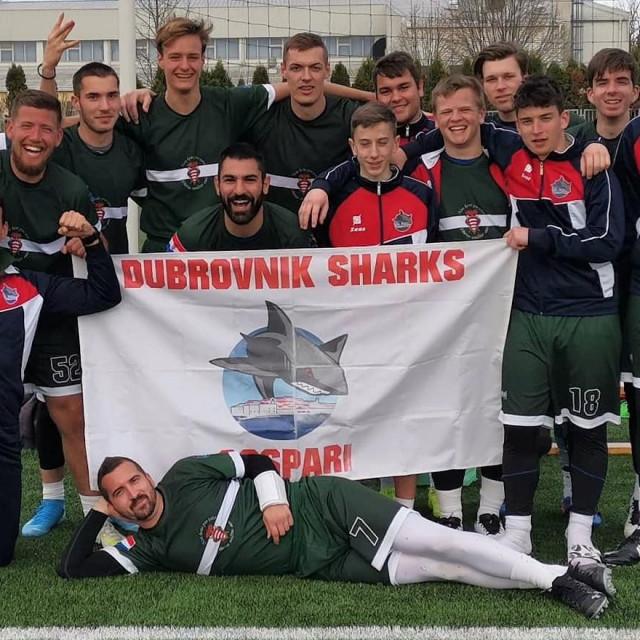 Dubrovnik Sharks nakon trijumfa u Bjelovaru