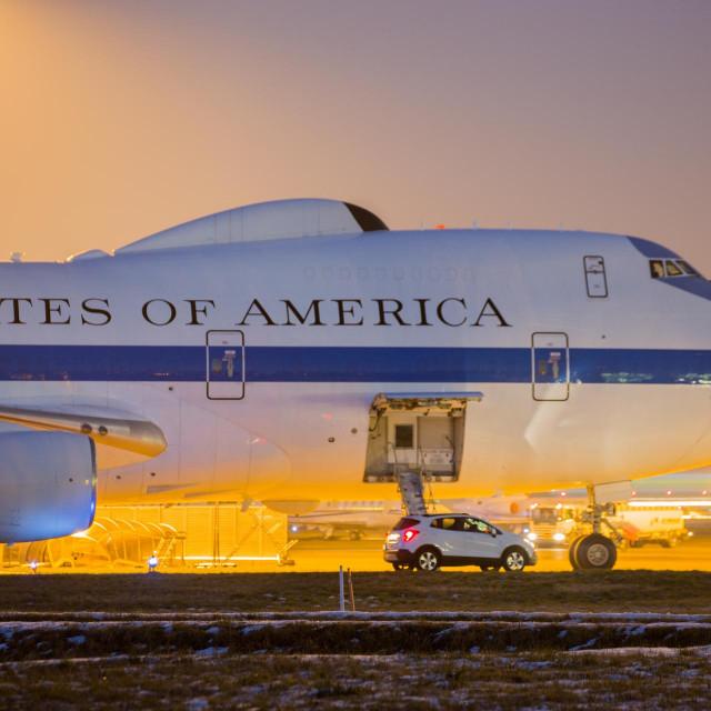 """Boeing E-4 USAF, avion iz američke iz """"doomsday"""" eskadrile"""