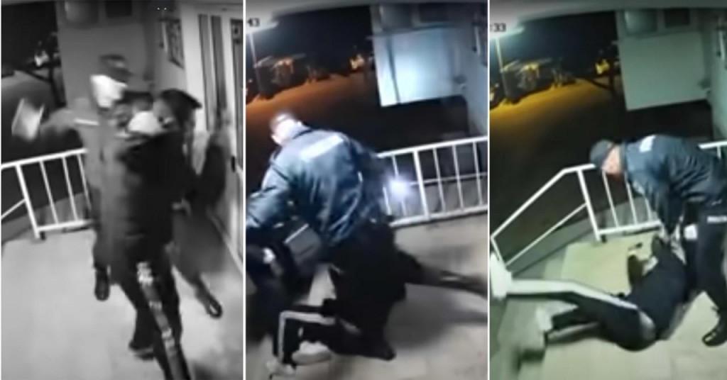 Policijska brutalnost u Mostaru
