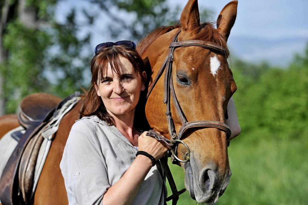 Lucija Ajduković iz konjičkog kluba 'Sveti Mihovil'