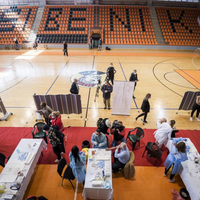 U sportskoj dvorani Baldekin u petak opet masovno cijepljenje
