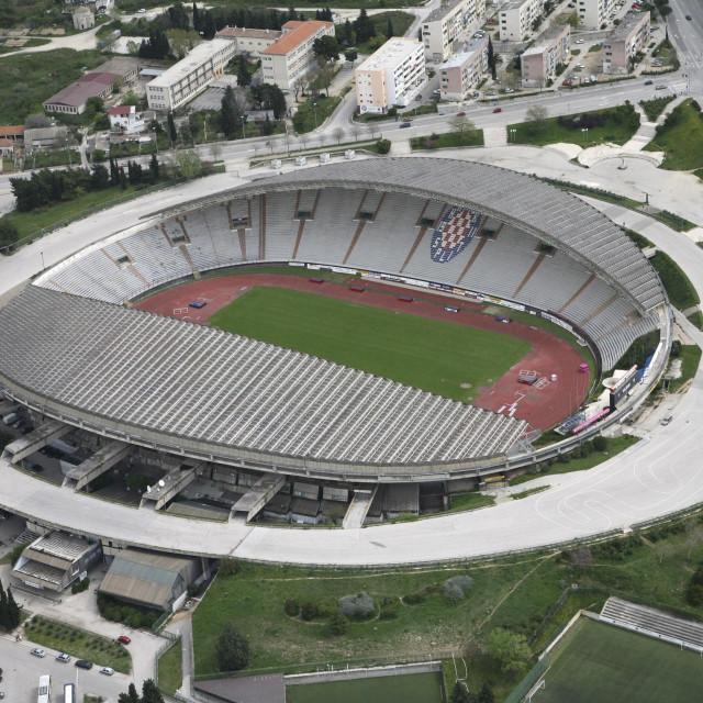 Panorama gradskog stadiona u Poljudu