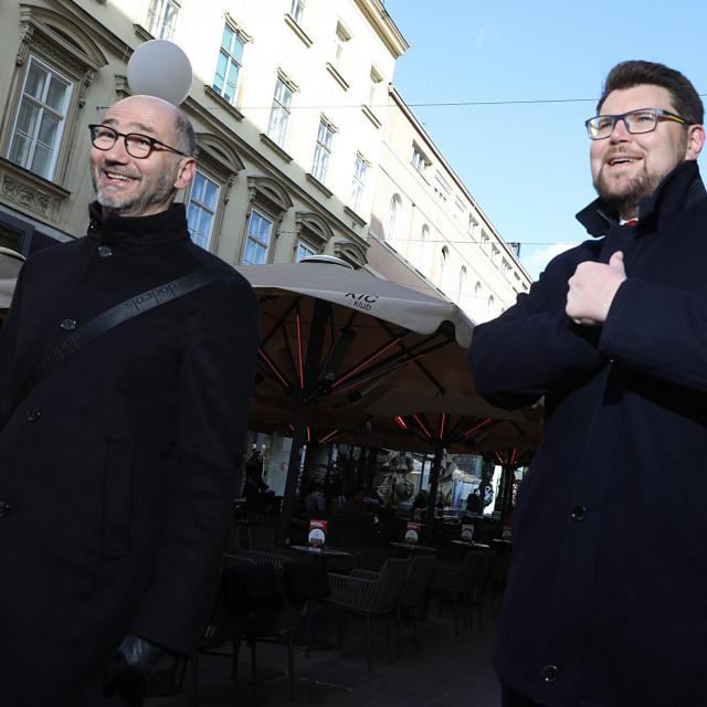 Joško Klisović i Peđa Grbin