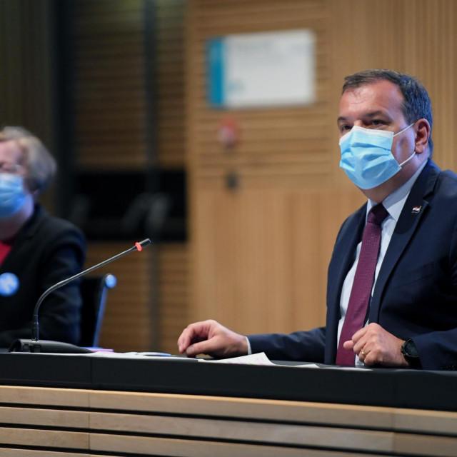 Na fotografiji: ministar zdravstva Vili Beroš.