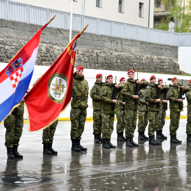 Svečanost povodom obilježavanja 14. obljetnice Gardijske mehanizirane brigade Hrvatske kopnene vojske