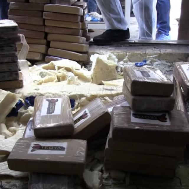 Velika zapljena kokaina u Luci Ploče