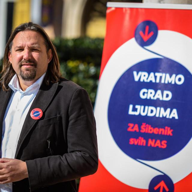 Tonči Restović kandidat je SDP-a za šibenskog gradonačelnika