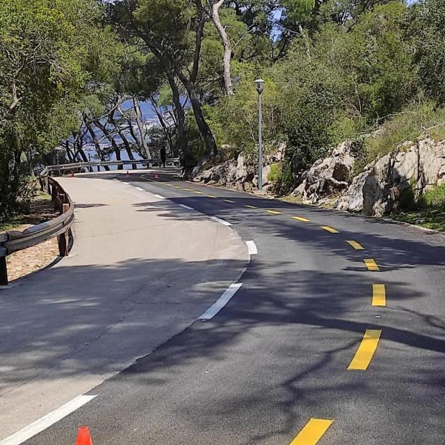 Obnovljena biciklistička staza od Spinutskih vrata do Bena