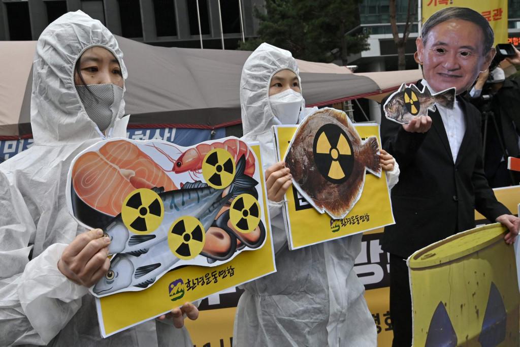 Prosvjed ispred japanskog veleposlanstva u Seulu