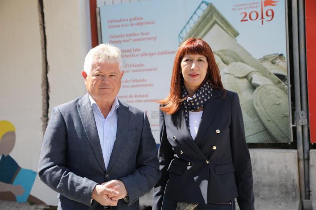 Andro Vlahušić i Nataša Gabričević, Dubrovnik, 14. travnja 2021.