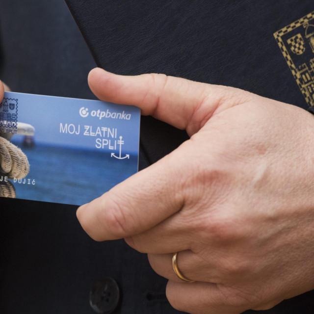 """Bankovna kartica """"Moj zlatni Split"""""""
