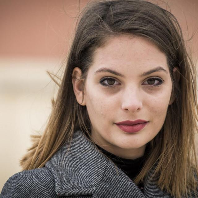Mirna Mihelčić, mlada šibenska glumica