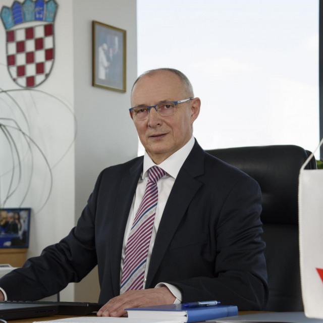 predsjednik Uprave Janafa mr.sc. Stjepan Adanić<br /> PHOTO: Janaf
