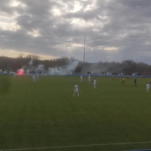Detalji igre Hajduka