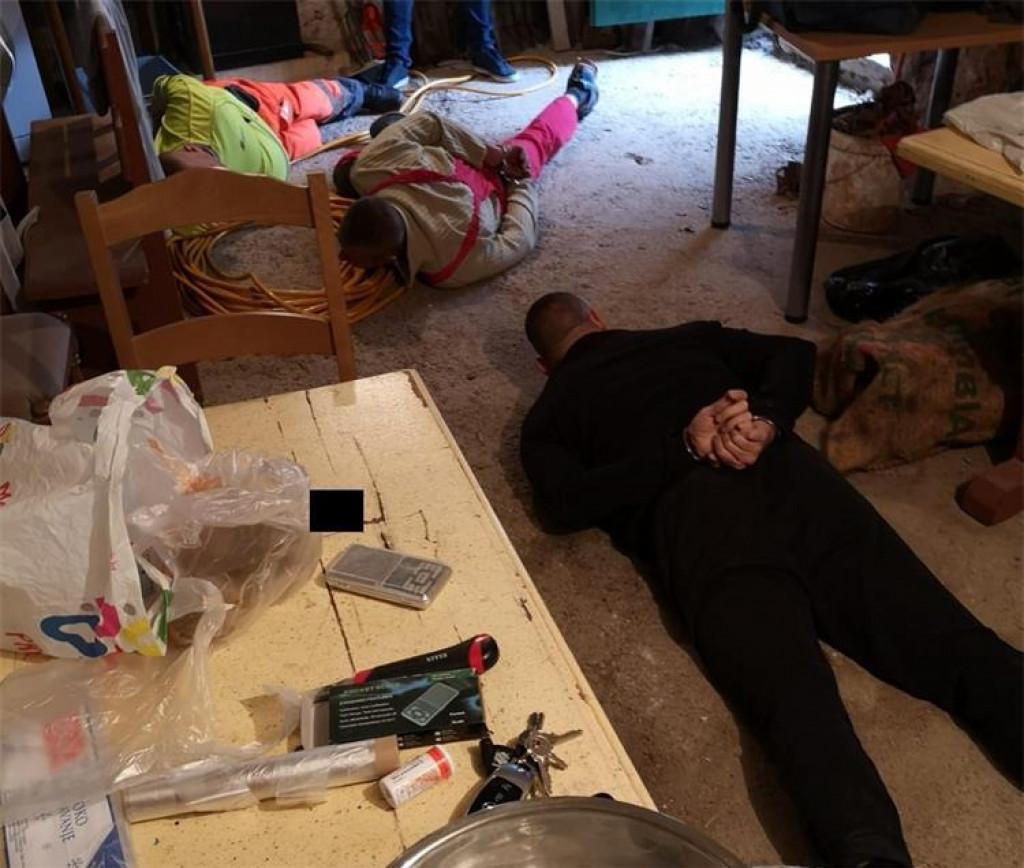 Uhićenje 'zločinačke' Alena Markulića zvanog Luster iz Splita
