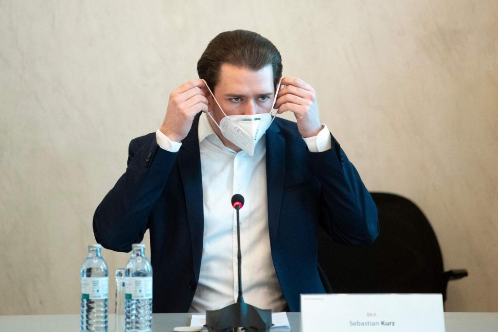 Na fotografiji: austrijski kancelar Sebastian Kurz