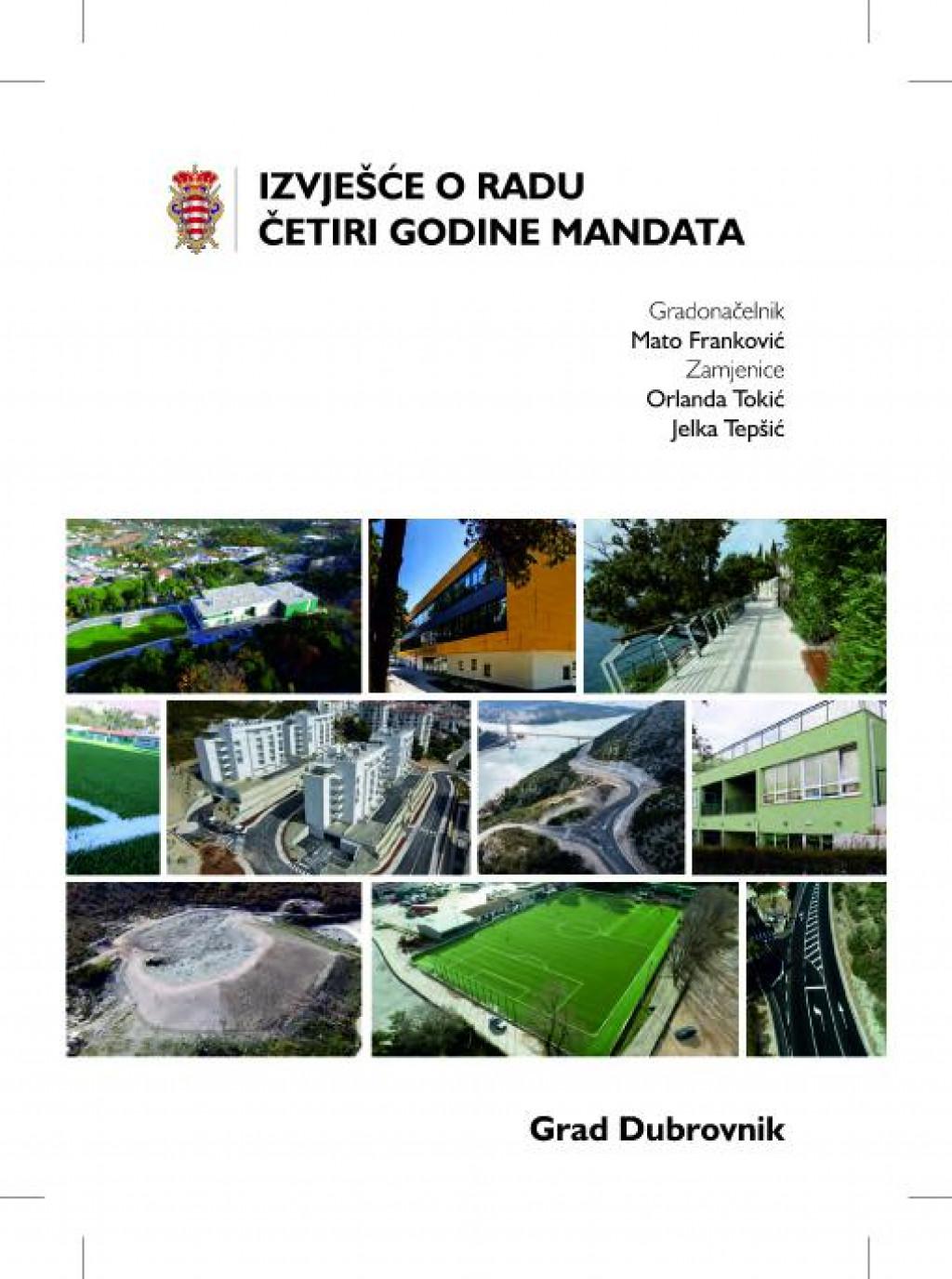 Izvješće o radu četiri godine mandata