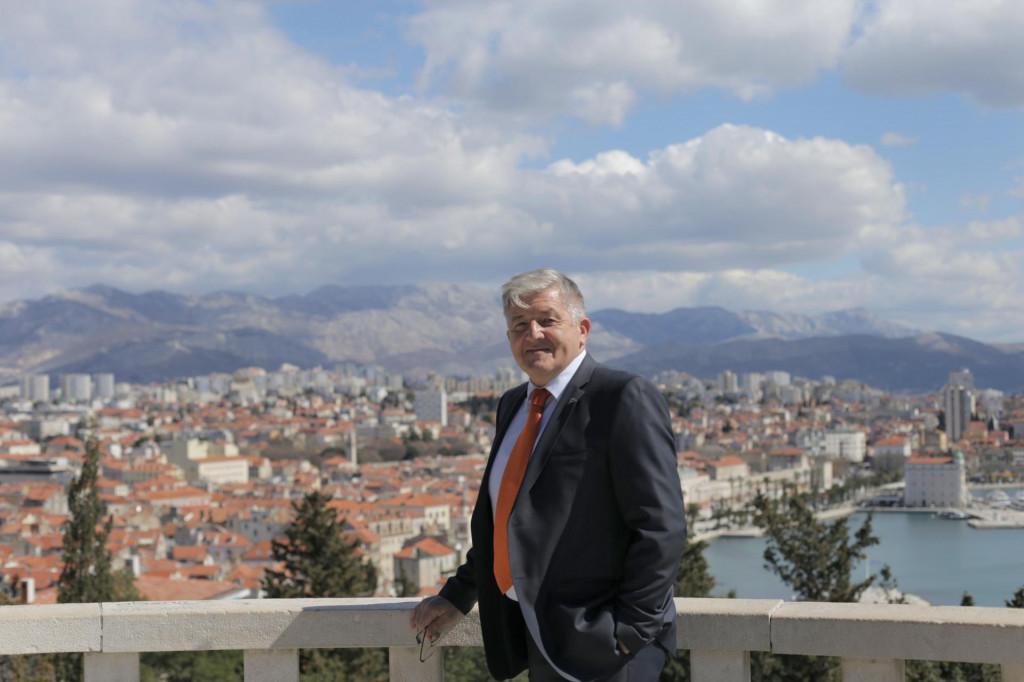 Darije Duje Jakaša, HNS-ov kandidat za gradonačelnika Splita