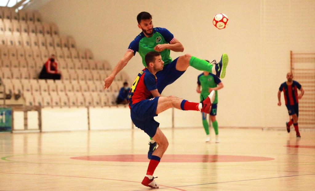 Prva utakmica četvrtfinala doigravanja za prvaka Hrvatske, Omiš: Olmissum - Square