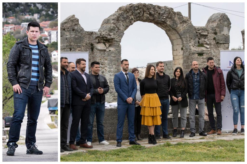Počelo je s Pranićem u Vrgorcu, sad su se mladi aktivirali po cijeloj Dalmaciji (na slici desno Nezavisna lista mladih Solin)