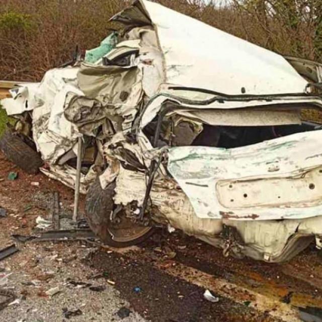 Prometna nesreća kod Žminja