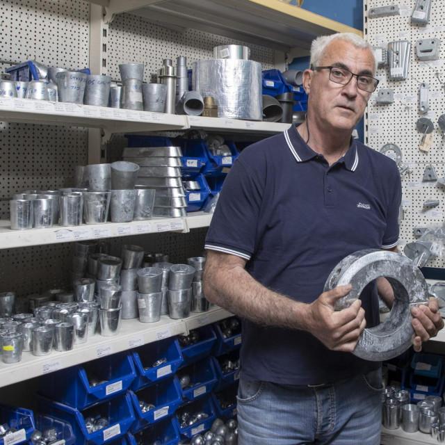 Željko Gizdić proizvodi cink anode gotovo 30 godina