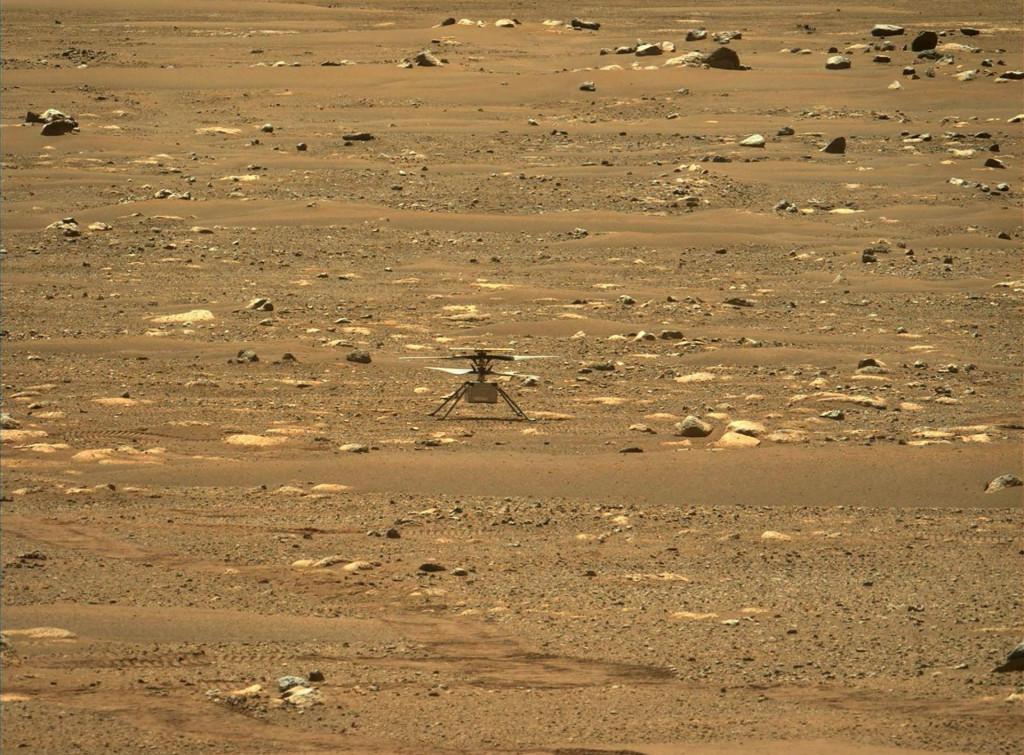 Helikopter je stigao do Marsa uz pomoć rovera Perseverance